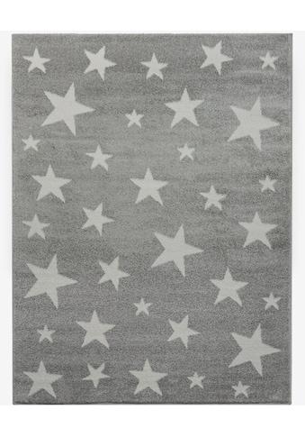 Lüttenhütt Teppich »Caprova«, rechteckig, 14 mm Höhe, Sterne kaufen