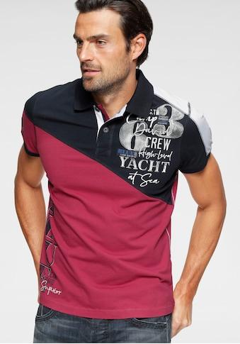 CAMP DAVID Poloshirt kaufen