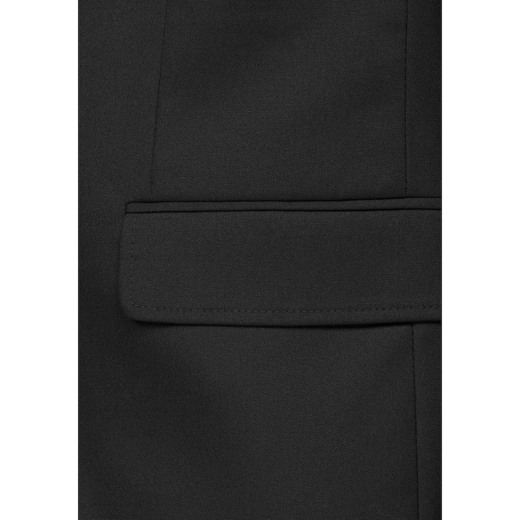Bruno Banani Anzug (Set, 4 tlg., mit Fliege und Einstecktuch)