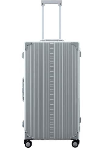 ALEON Hartschalen-Trolley »Aluminiumkoffer International Trunk, 78 cm«, 4 Rollen, inkl. Schutzhülle und Packwürfel kaufen