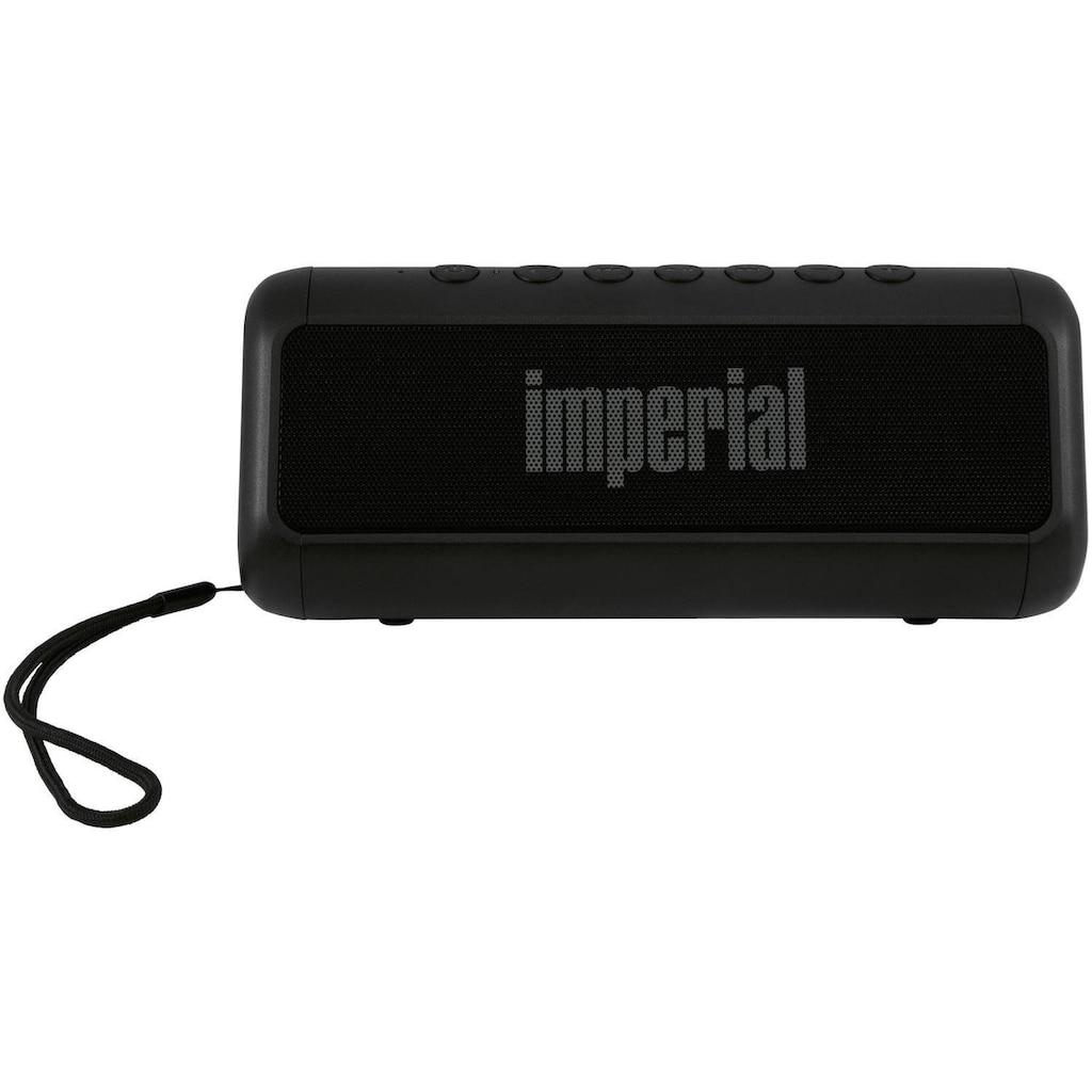 IMPERIAL by TELESTAR Bluetooth-Lautsprecher »BAS 6«, mit Solarlade- und Powerbank-funktion