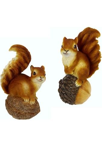I.GE.A. Tierfigur »Eichhörnchen« (Set, 2 Stück) kaufen