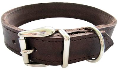 HEIM Hunde-Halsband, Echtleder, Länge: 60 cm kaufen