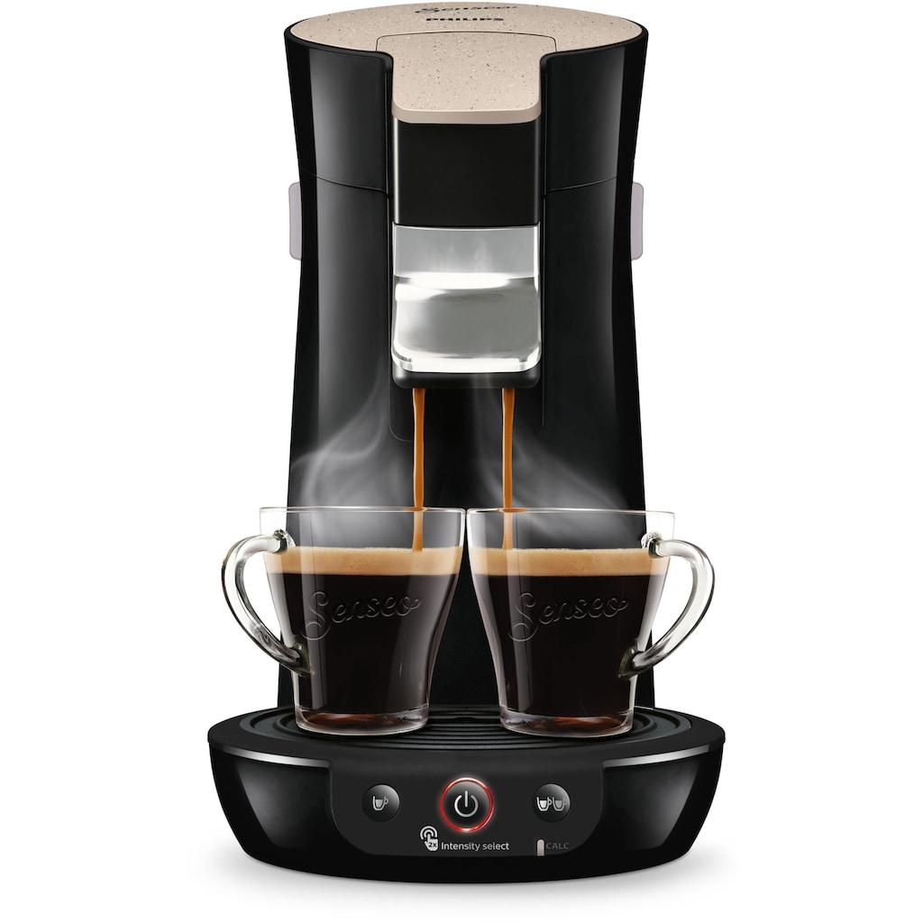 Senseo Kaffeepadmaschine »SENSEO® Viva Café Eco HD6562/35«, besonderer Kaffeegenuss mit Liebe zur Umwelt, inkl. Gratis-Zugaben im Wert von 14,- UVP