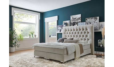 ATLANTIC home collection Boxspringbett, mit Topper und extra hohem Kopfteil kaufen