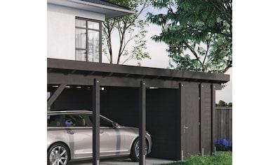Kiehn - Holz Geräteraum BxT: 585x174 cm, nur für Carport KH 330/311, versch.Farben kaufen