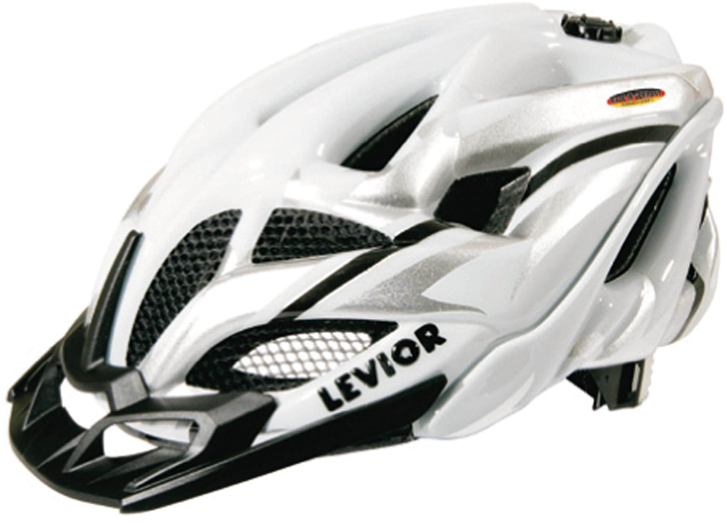 Levior Fahrradhelm »Opus Visor« | Accessoires > Caps > Visors | Weiß | LEVIOR