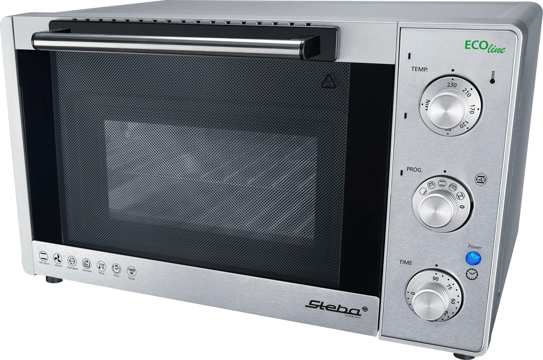 Steba Minibackofen KB 28 ECO, 1400 W | Küche und Esszimmer > Küchenelektrogeräte > Küche Grill | STEBA
