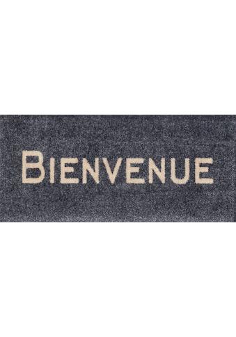 wash+dry by Kleen-Tex Fußmatte »Bienvenue«, rechteckig, 9 mm Höhe, Schmutzfangmatte,... kaufen