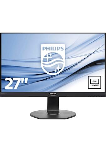 "Philips LCD-Monitor »272B7QPJEB/00«, 68,5 cm/27 "", 2560 x 1440 px, QHD, 5 ms... kaufen"