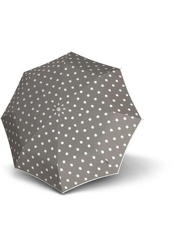Knirps® Taschenregenschirm »T.010 Small Manual, Dot Art Taupe« kaufen