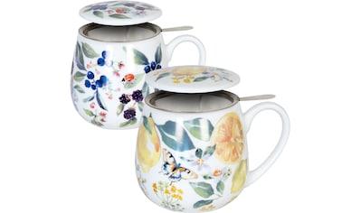 Könitz Becher »Tea Berry - Lemon by V.Lowe«, (Set, 2 tlg., 2 Becher mit... kaufen