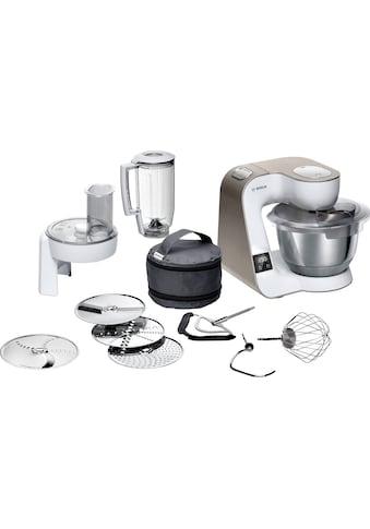 BOSCH Küchenmaschine »MUM5XW20 MUM5«, 1000 W, 3,9 l Schüssel, integrierte Waage,... kaufen