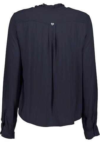 Please Jeans Langarmshirt »C0Q5Z«, mit Rüschen und Volant-Besatz kaufen