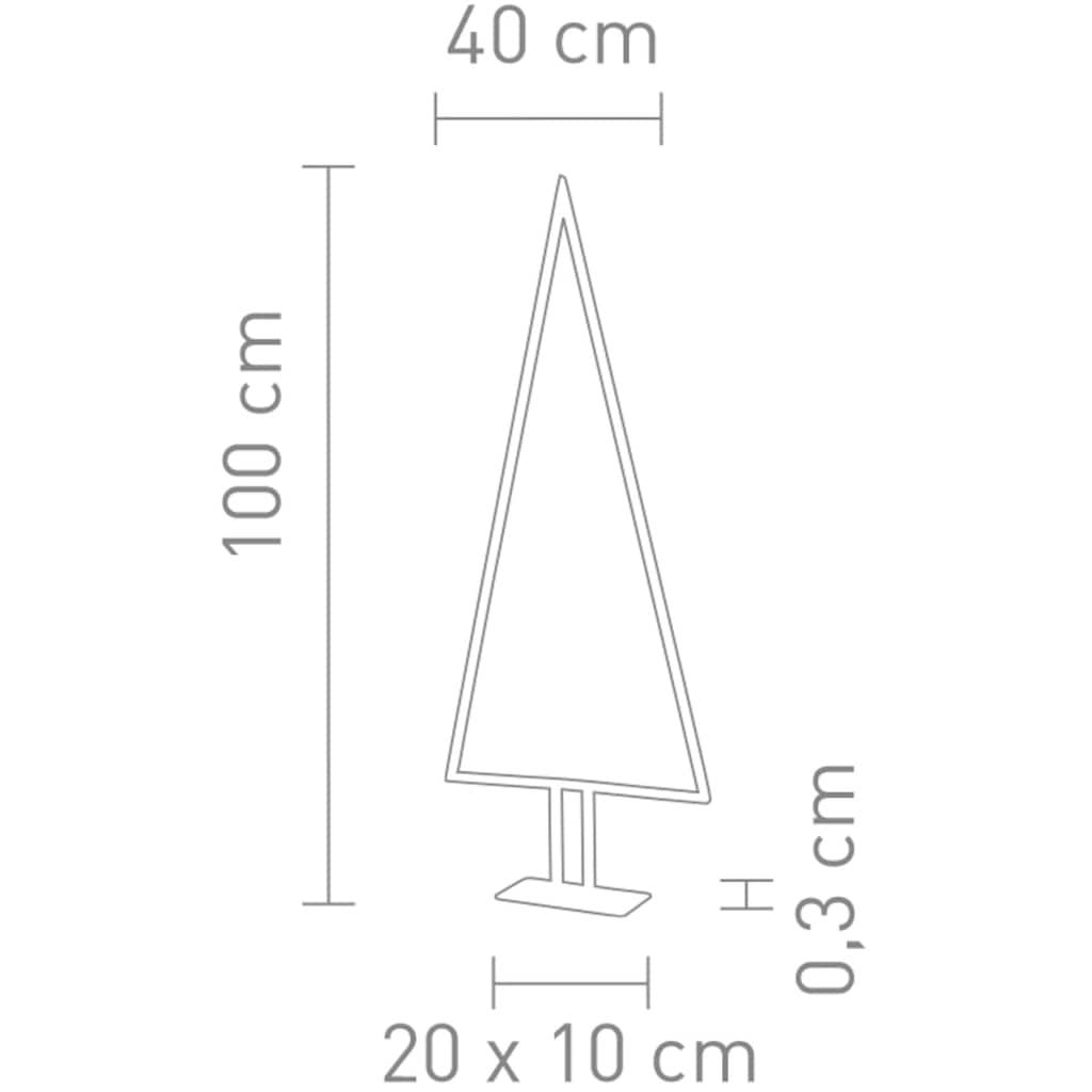 SOMPEX LED Baum »Pine«, Warmweiß, Höhe 100 cm, Dimmer in der Zuleitung