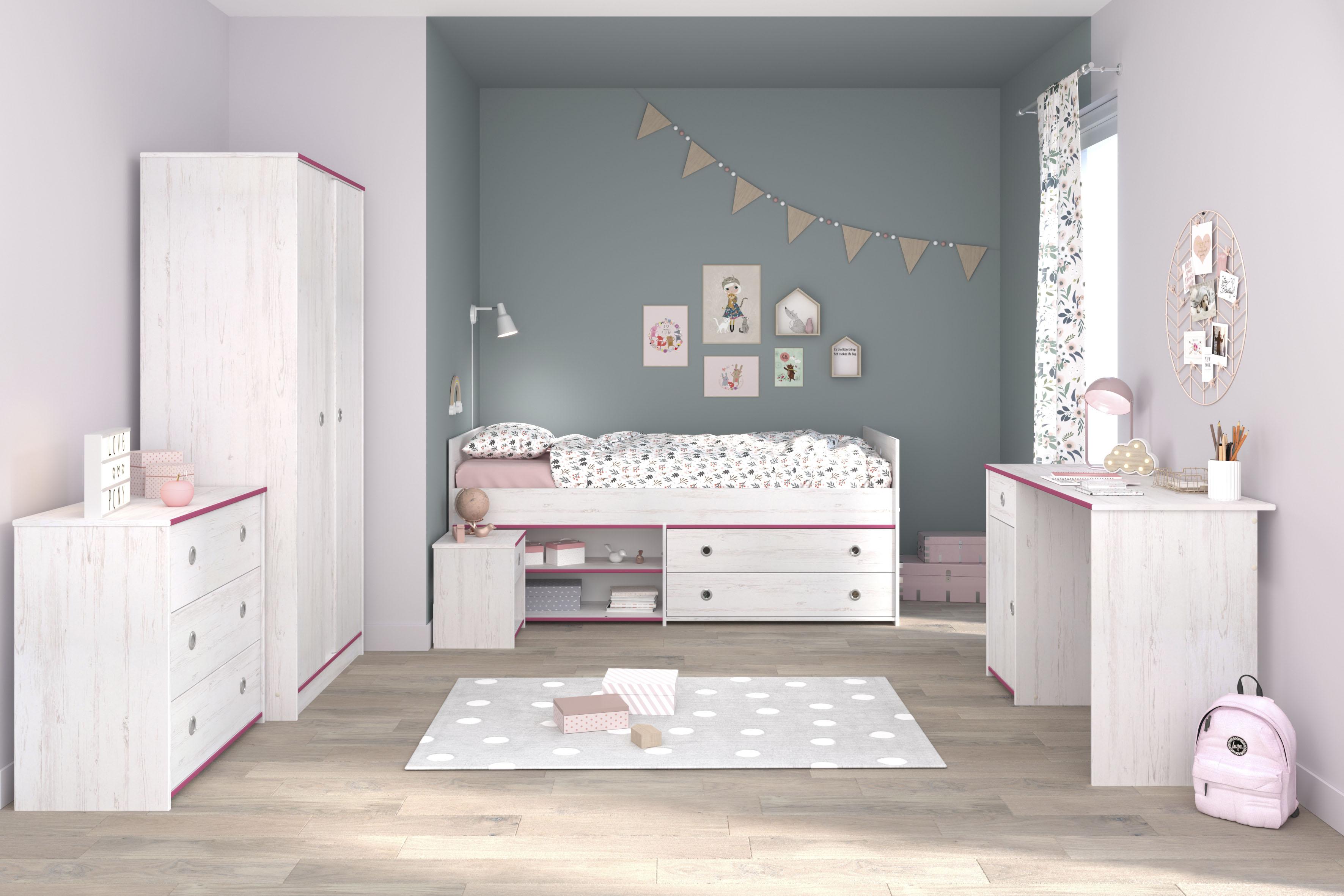 Parisot Jugendzimmer-Set »Smoozy« (Set, 5-tlg) | Kinderzimmer > Jugendzimmer > Komplett-Jugendzimmer | Parisot