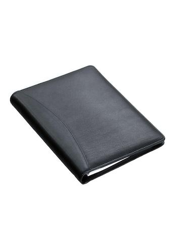 Alassio® Schreibmappe »DIN A5, Bormio I«, aus genarbtem Nappaleder kaufen