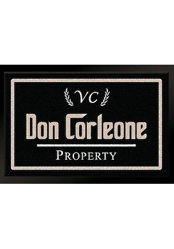 HANSE Home Fußmatte »Don Corleone - Mafia«, rechteckig, 7 mm Höhe, Schmutzfangmatte kaufen