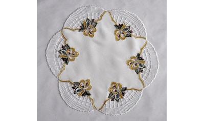 Stickereien Plauen Tischdecke »Glockenzauber«, rund kaufen