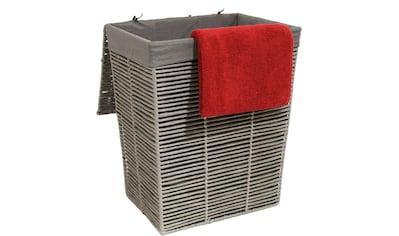 Franz Müller Flechtwaren Wäschekorb, (1 St.), modernes Design kaufen