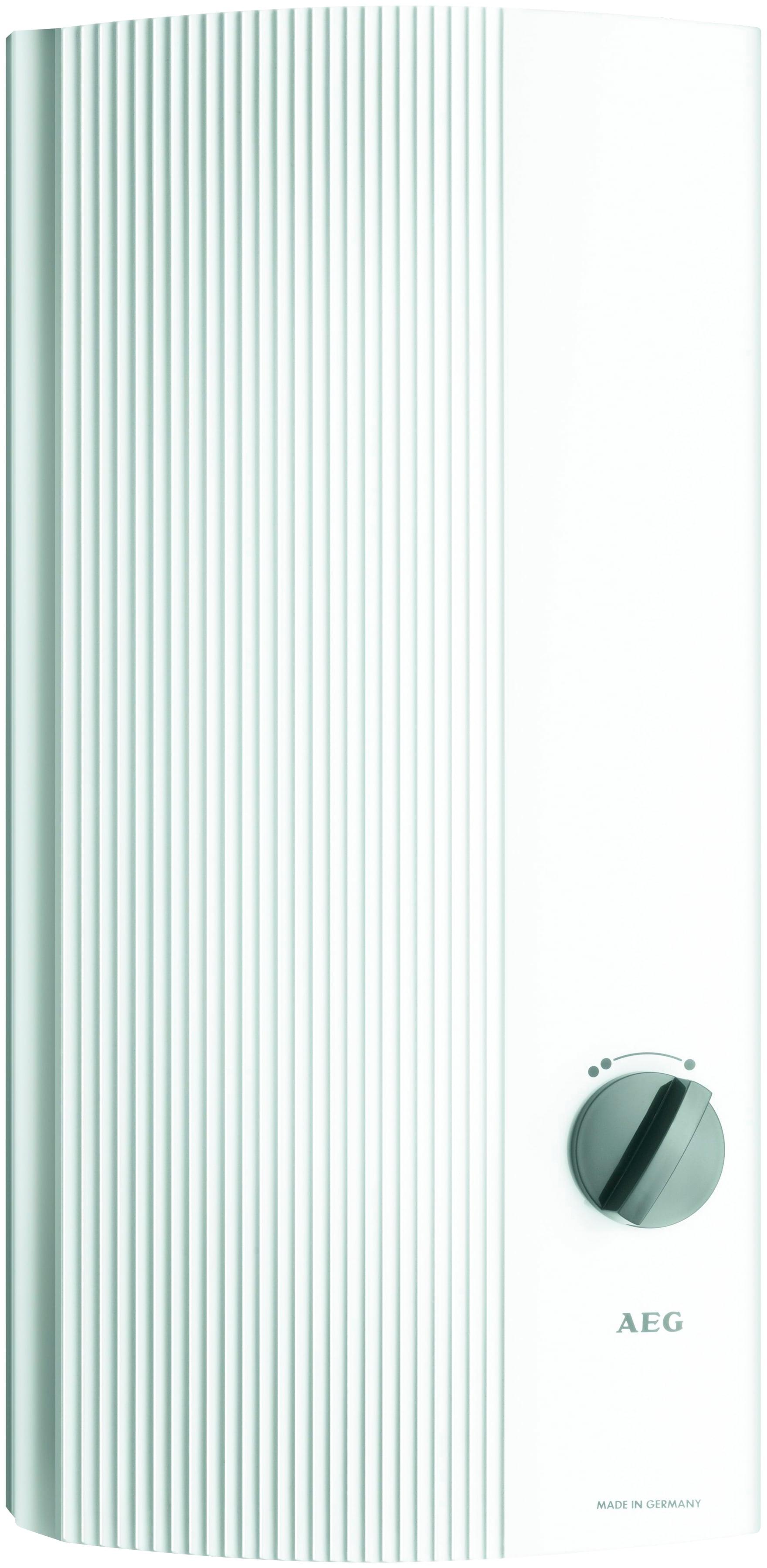 AEG Durchlauferhitzer »DDLT PinControl 21« | Baumarkt > Heizung und Klima > Durchlauferhitzer | Weiß | AEG