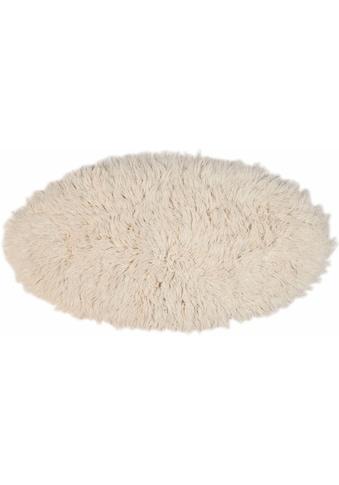 Wollteppich, »Flokos 2«, Theko Exklusiv, oval, Höhe 61 mm, handgewebt kaufen