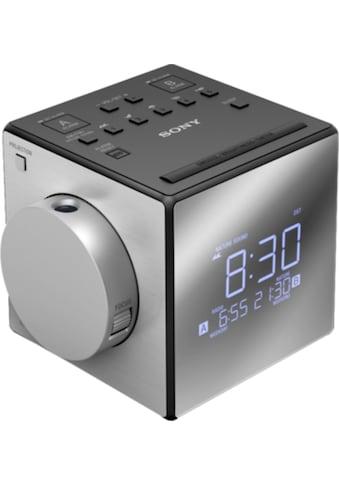 Sony Uhrenradio »ICF-C1PJ«, (Bluetooth FM-Tuner) kaufen