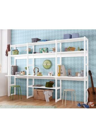 Hoppekids Jugendzimmer-Set »Skagen«, (Set, 20 tlg.), inkl. Schreibtisch kaufen