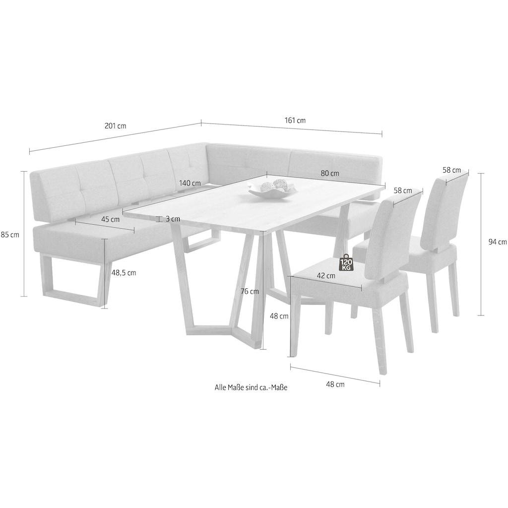 Eckbankgruppe »Ponza« (Set, 4-tlg)