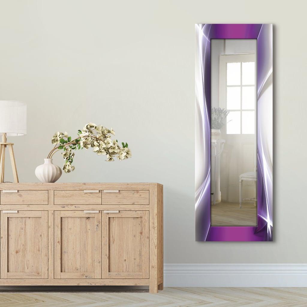 Artland Wandspiegel »Kreatives Element«, gerahmter Ganzkörperspiegel mit Motivrahmen, geeignet für kleinen, schmalen Flur, Flurspiegel, Mirror Spiegel gerahmt zum Aufhängen