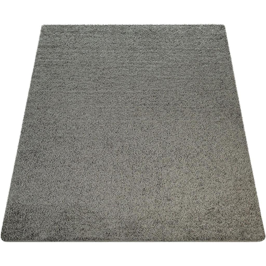 Hochflor-Teppich, »Vienna 200«, Paco Home, rechteckig, Höhe 25 mm, maschinell getuftet