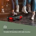 Auna Spacewoofer Boombox CD-Player UKW-Radio Bluetooth Fernbedienung »Spacewoofer«
