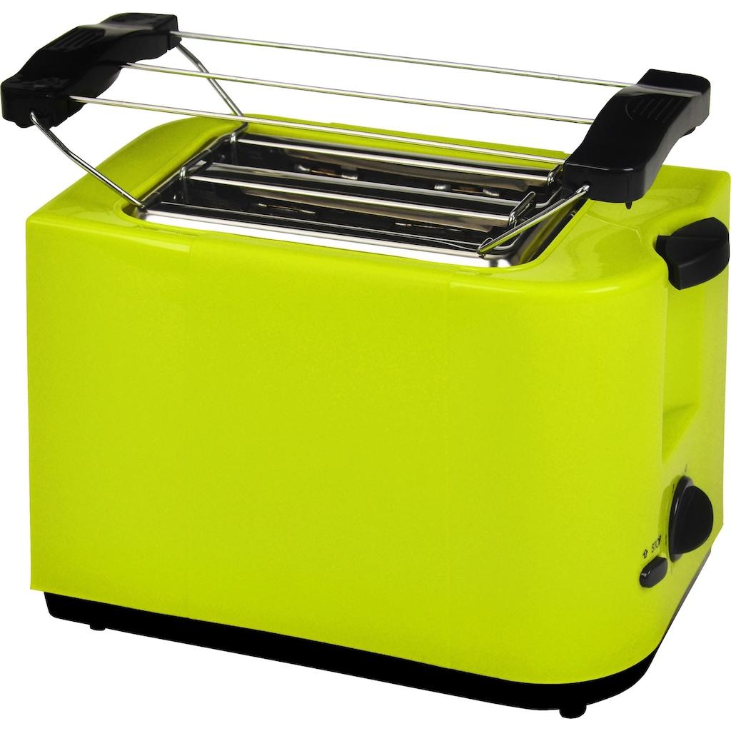 Efbe-Schott Toaster »SC TO 5000«, 2 kurze Schlitze, für 2 Scheiben, 700 W