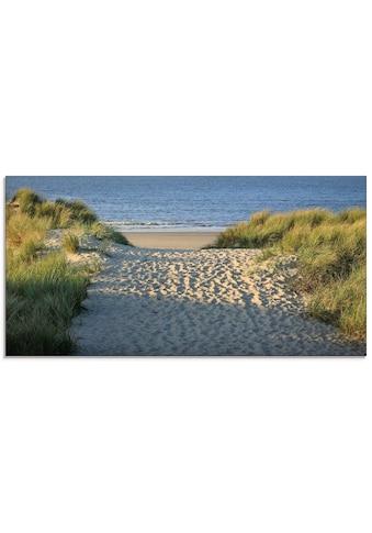 Artland Glasbild »Strandaufgang« kaufen
