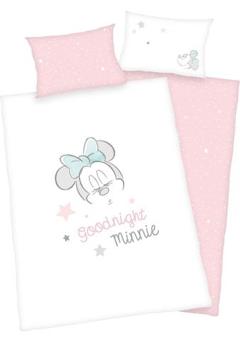 Walt Disney Babybettwäsche »Minnie Mouse«, mit Schriftzug kaufen