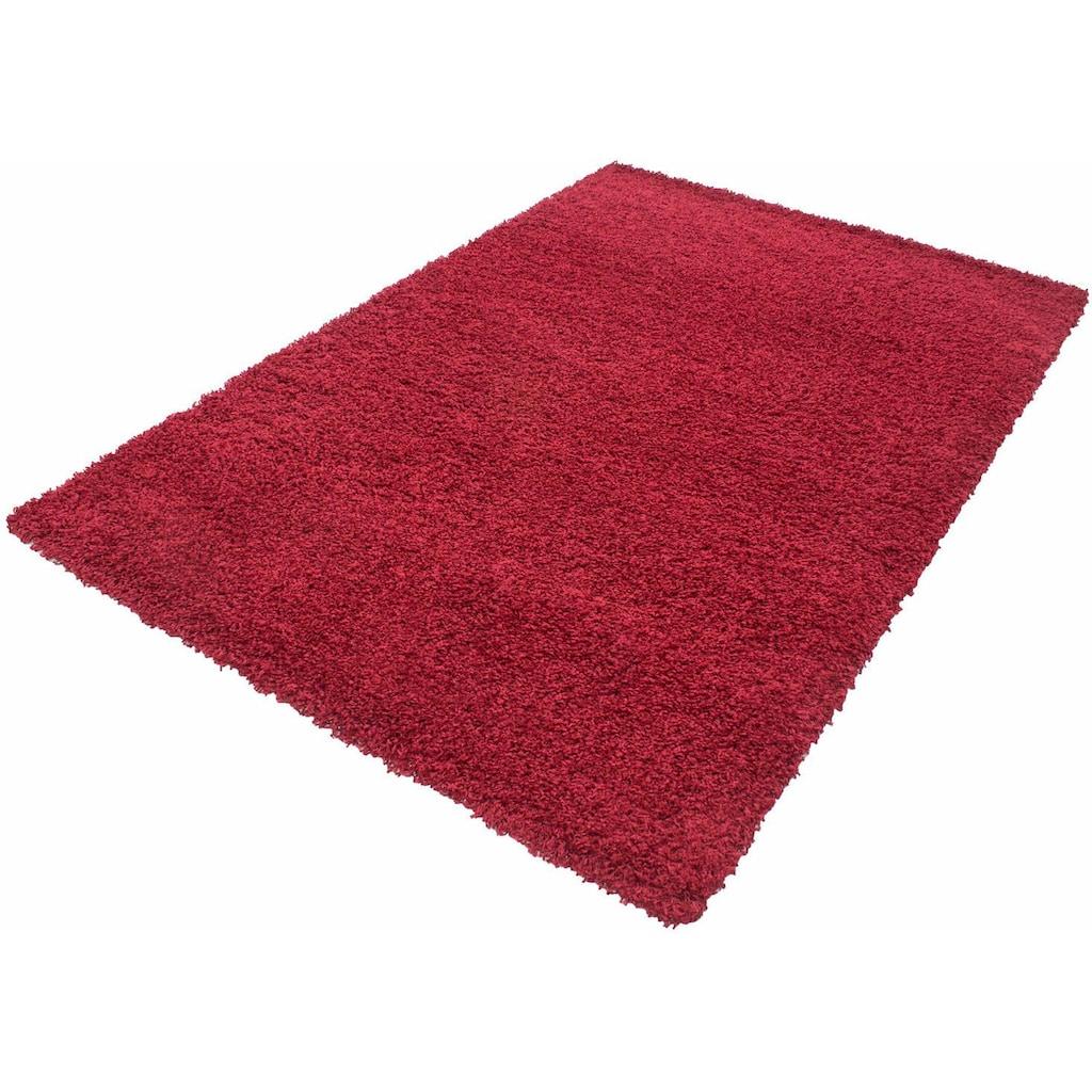 Hochflor-Teppich, »Life Shaggy 1500«, Ayyildiz, rechteckig, Höhe 30 mm, maschinell gewebt