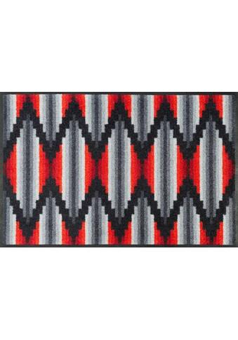 wash+dry by Kleen-Tex Fußmatte »Ribanna«, rechteckig, 7 mm Höhe, Schmutzfangmatte, In-... kaufen