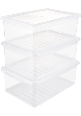 keeeper Stapelbox »bea«, (Set, 3 St.), mit Belüftungsfunktion kaufen