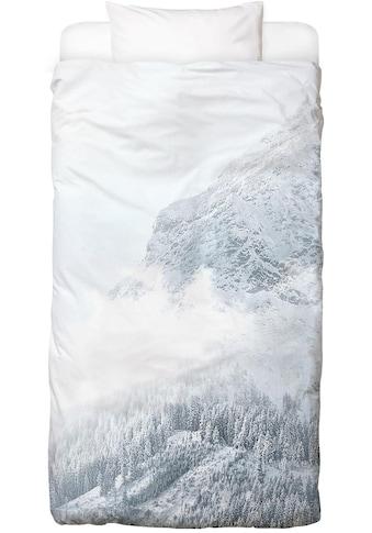 Juniqe Bettwäsche »White Mountain 1«, In vielen weiteren Designs erhältlich kaufen
