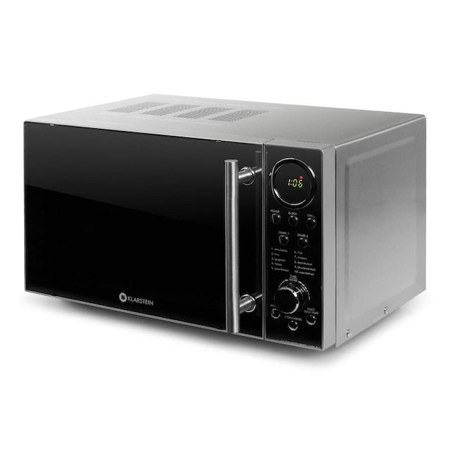 Klarstein Mikrowelle mit Grill Grillfunktion Mikrowellenofen 20 Liter »Luminance Prime«