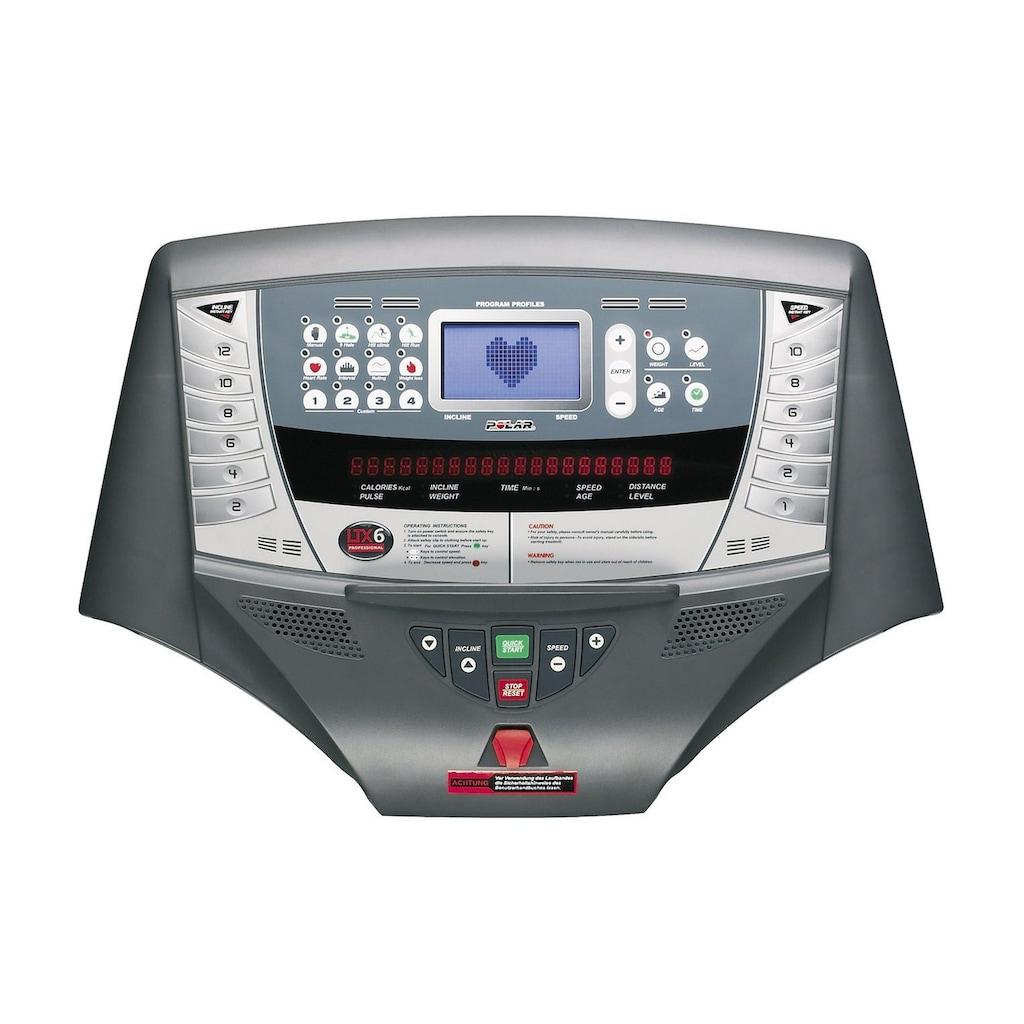 U.N.O. FITNESS Laufband »LTX6 Pro«, (Set, mit Brustgurt)