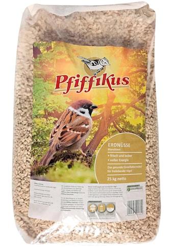 Pfiffikus Vogelfutter »Erdnüsse«, blanchiert, 25 kg kaufen