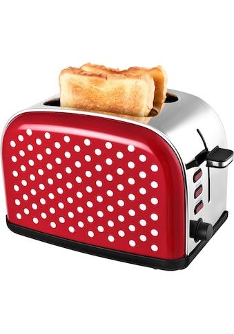 Team Kalorik Toaster »TKG TO 1045 RWD«, für 2 Scheiben, 1050 Watt kaufen