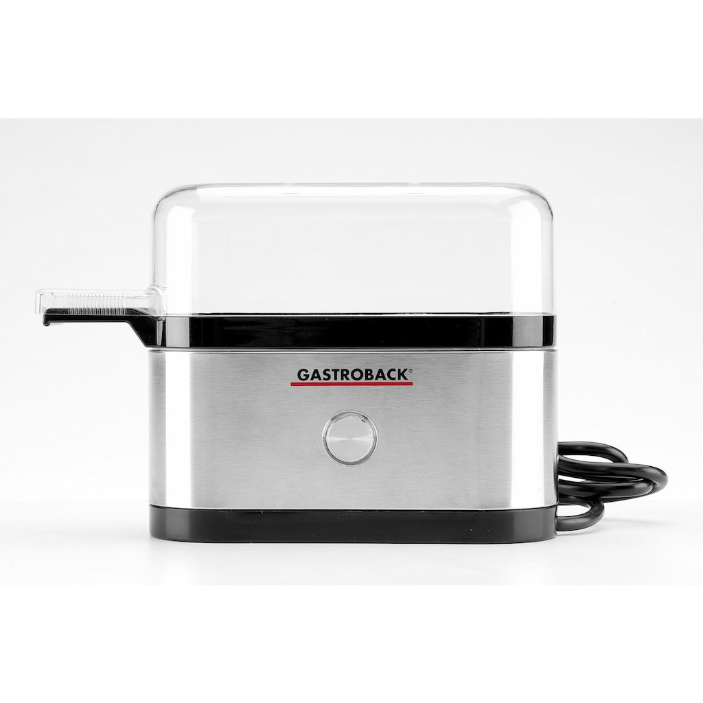 Gastroback Eierkocher »Design Mini 42800«, für 3 St. Eier, 350 W