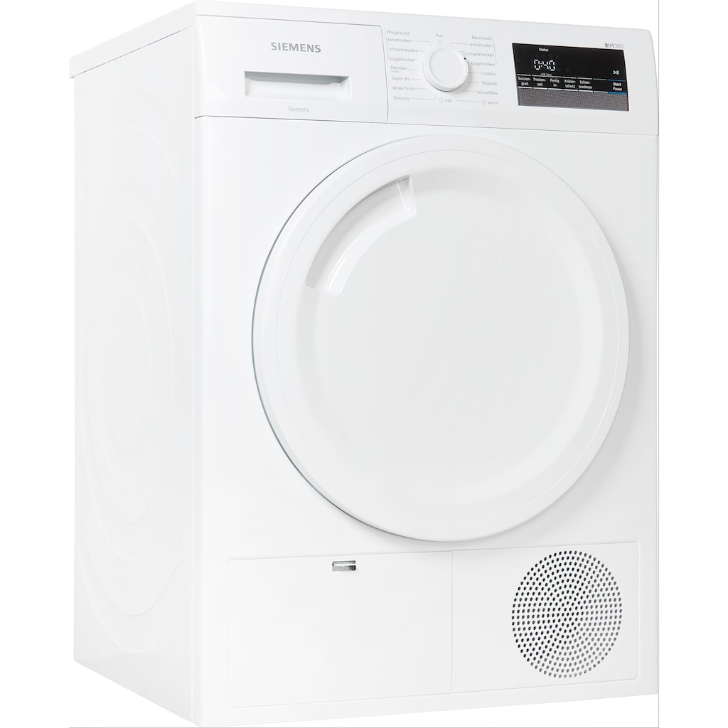 SIEMENS Kondenstrockner »WT43N202«, iQ300