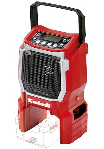 EINHELL Baustellenradio »TE - CR 18 Li  -  Solo«, Power X - Change, ohne Akku und Ladegerät, inkl. Kabel kaufen