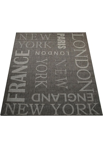 Paco Home Teppich »Country 675«, rechteckig, 5 mm Höhe, In- und Outdoor geeignet,... kaufen