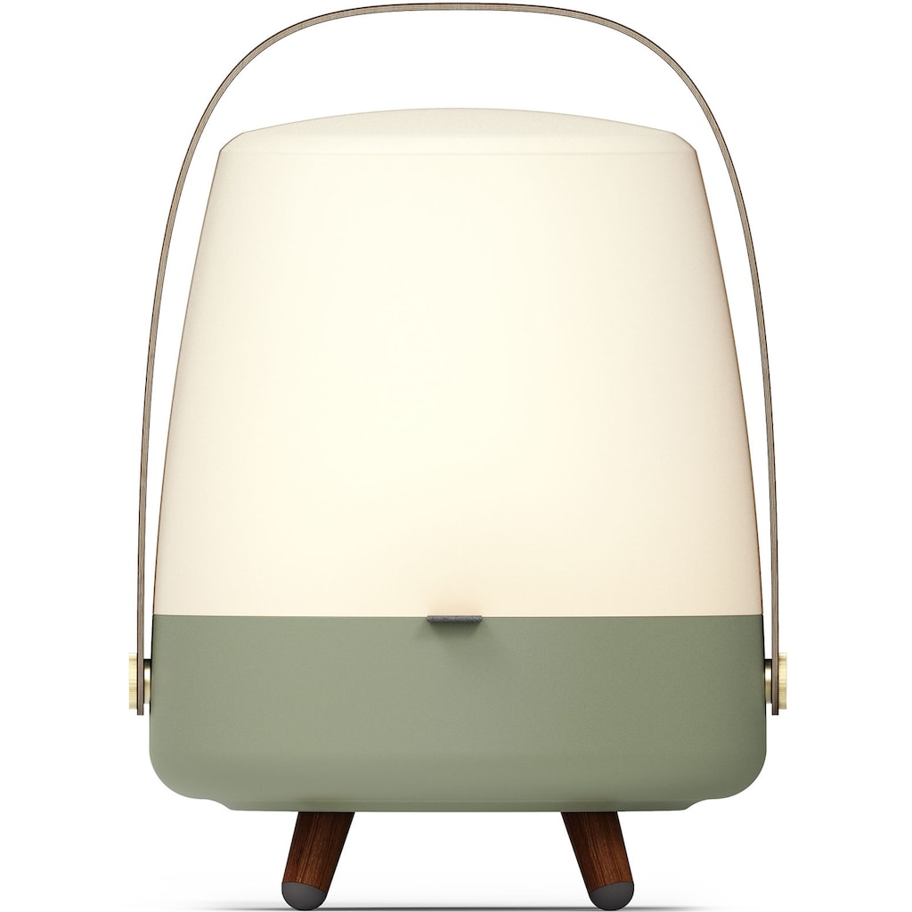kooduu LED Tischleuchte »Lite-up Play S«, LED-Board, Warmweiß, tragbare LED Designer-Lampe, Bluetooth Lautsprecher mit Akku, eine witere S-Lampe koppelbar