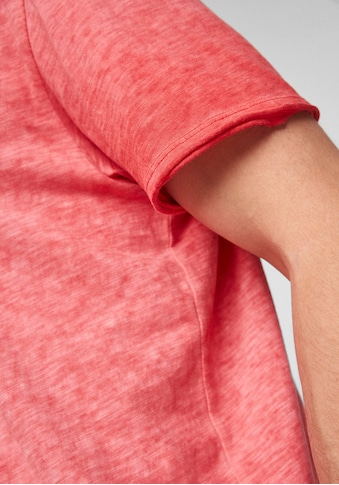 s.Oliver T-Shirt, washed-out-Optik kaufen