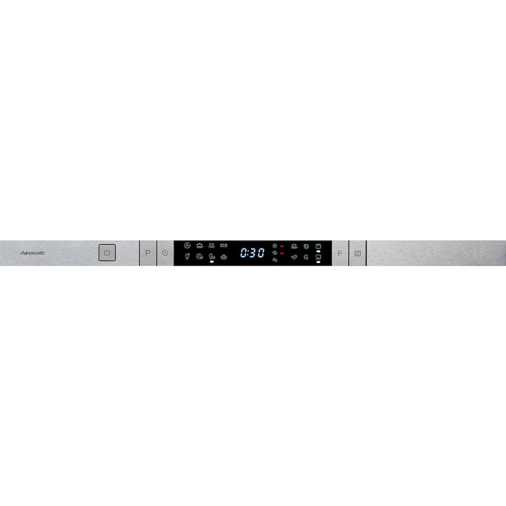 Hanseatic vollintegrierbarer Geschirrspüler »HGVI6082C13J7713DS«, HGVI6082C13J7713DS, 13 Maßgedecke